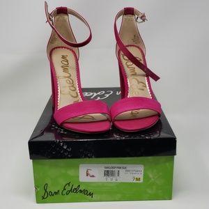 Sam Edelman Pink Heels Size 7M